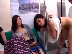 Japonês meninas fodido em diferente lugares parar