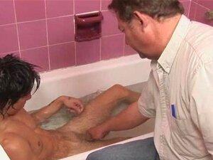 Diversão gay na banheira