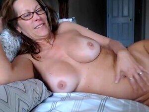 Dedos maduros na webcam,