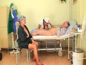 Do velho e foda de enfermeira Nubile