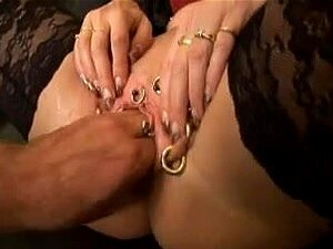 Pirced mother I would like to fuck FISTED AND ANAL