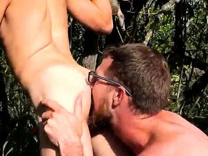Gay sex black and white movie Outdoor Pitstop