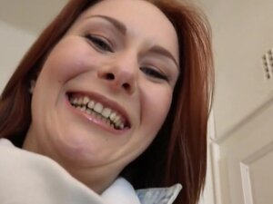 Hot redhead Euro amateur banged pov, Stranger with