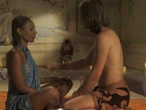 Beautiful Indian Learns To Relax With Intimate