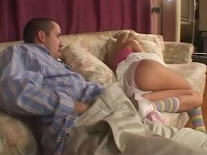 DADDY COPULATES BABYSITTER IN THE A-HOLE (by tm),