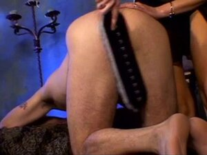 Mistress gets sex slave a paddle to the ass