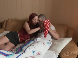 Movies of a sweet teen riding on top of dick,