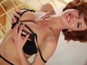 Redhead milf likes to get fucked in a doggy style,