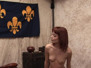 Amazing redhead barely legal zoe voss gets fucked