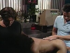 Busty Fallon Spunked By Two Hung Studs, Busty,
