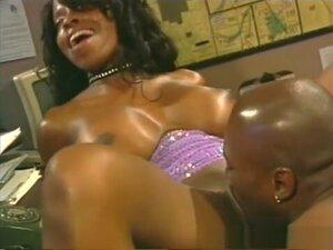 Fabulous pornstar Vanessa Blue in incredible black