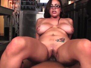 Lusty provocative chubby brunette Selena Castro