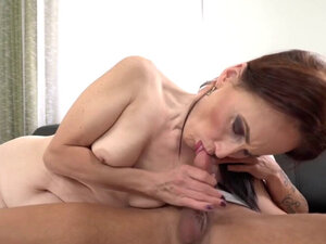 Granny loves getting hard dick in her pussy