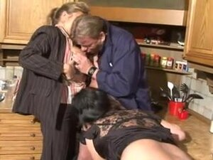 Mature German whores fuck hard with youngsters,