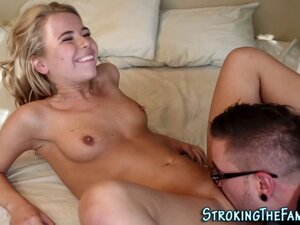 Teen stepsister analized