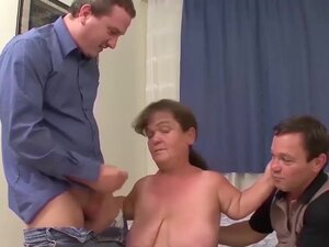 chubby midget granny first time threesome