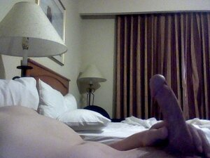Hotel jerk and cum