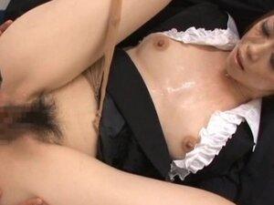 Maki Houjo Hot Asian teacher enjoys sex part2