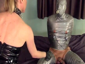 Sadistic tugging mistress in painful cbt