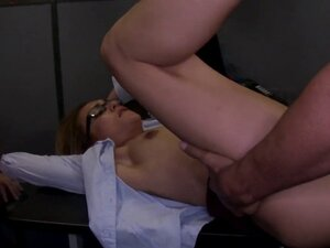 My ex banged closeup at work office party