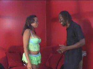 Busty Ebony Gets Her Pussy Licked