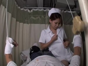 Nurse rides with lust an asian hammer in spy cam