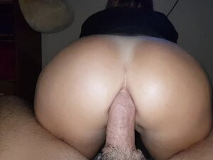 Spanish amateur anal while she's watching Star
