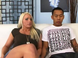 Amazing pornstar Sadie Swede in horny interracial,