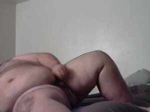 Fat bear jerking off,