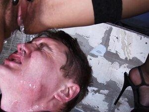 Russian-Mistress Video: Lara, This pathetic slave