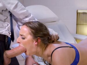 Medical marvel needs deep anal sex to reach an