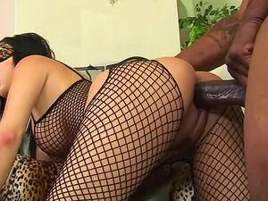 Sativa Rose takes BBC in the ass
