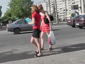 Very arousing redhead upskirt episode, upskirts