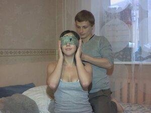 Busty Russian GF pounded by a stranger