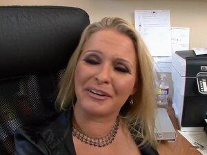 MILF Boss Fucks Employee With Big Dick, When your
