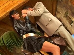 Girl who fuck in satin clothes