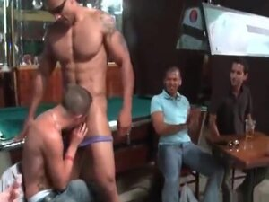 Huge group gets crazy in the club 6 part1,
