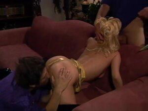 Crazy pornstar Mila Kunis in hottest blonde, dp