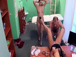 Group fuck in hospital with doctor