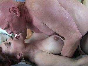 Bald mature dude fucks brunette milf Sexy Vanessa