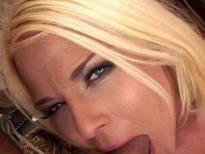 Euro babe wife wants farmers dick in gaping ass