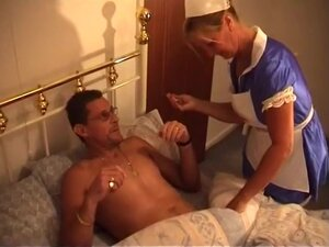 Hot Blonde Nurses Cock Back to Health, Every man's
