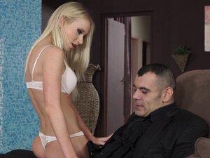 Slender and sexy Kiara Lord fucked hard by a big