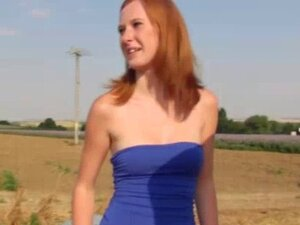 Real euro ginger gets naughty proposal