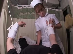 Medical fetish sex video with asian nurse who