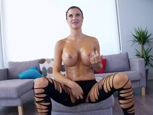 Horny European Chick With Big Tits, We love big