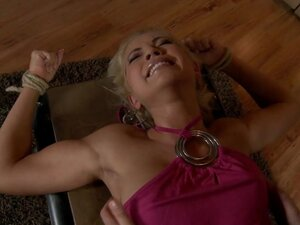 Tickling-Submission - Tied toes tickled and