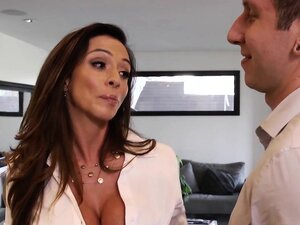 Busty mom Ariella Ferrera gets fucked and