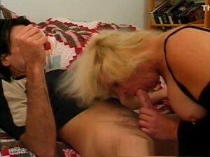 Horny pornstar in incredible mature, blonde sex