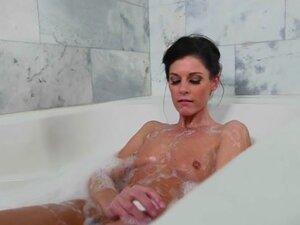 Smalltitted stepmom cockriding in taboo trio